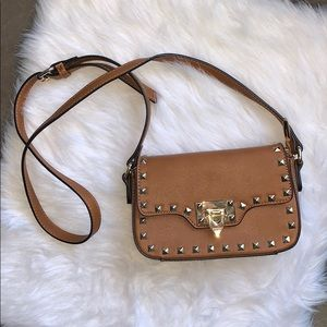 Handbags - BROWN CROSSBODY